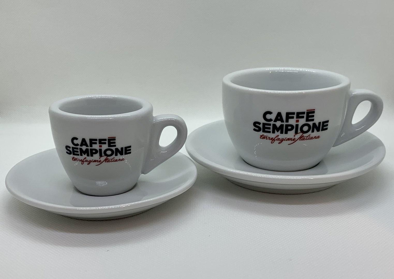 """Cappuccino + Espresso Tasse """"Sempione"""""""