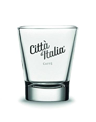 Espresso-Glas / Wasser