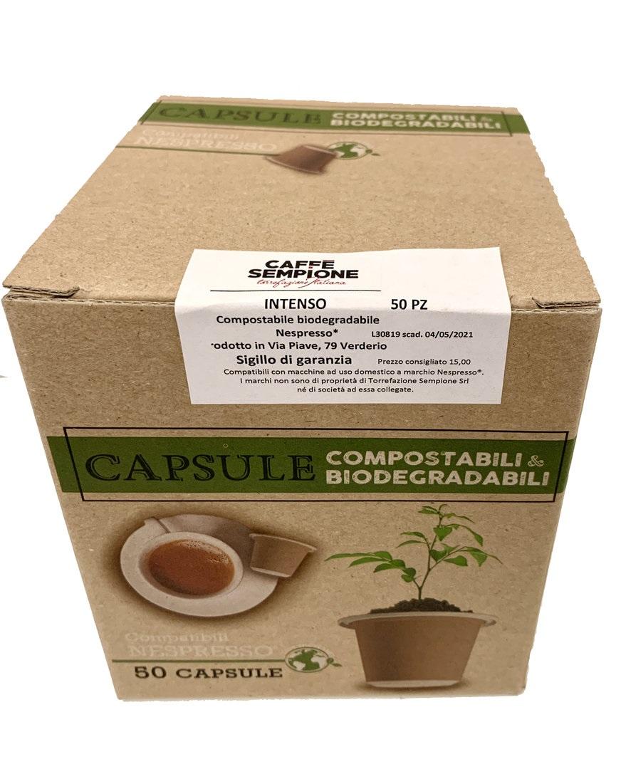 Caffè Sempione - Nespresso® BioKapsel - Intenso