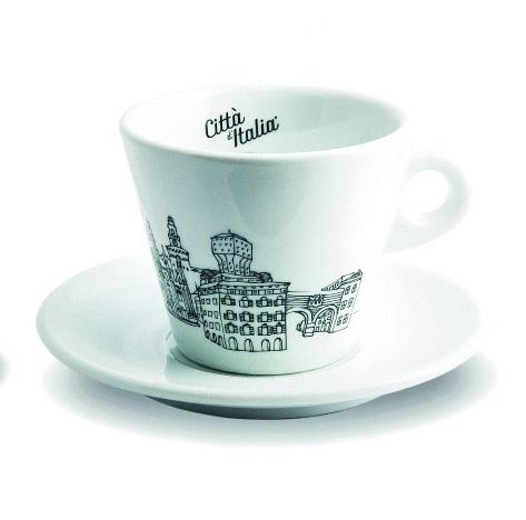 Cappuccino-Tasse Kollektion